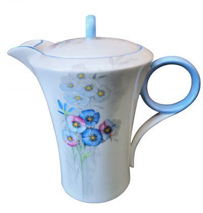 Shelley Art Deco Nemesia 1934 coffee pot