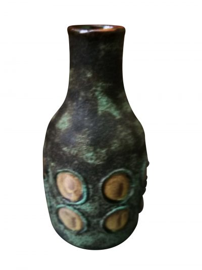 Toscana modernist West German retro mid-century pottery vase from Antik Seramika