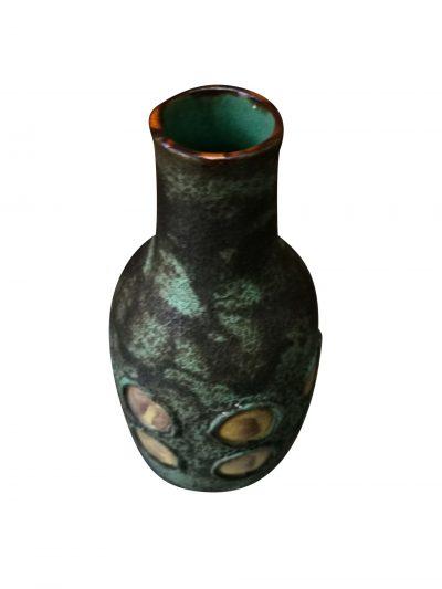Toscana modernist West Germany mid-century pottery vase from Antik Seramika