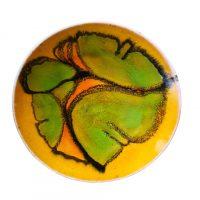 Poole Delphis mid-century pottery retro shallow bowls shape 3