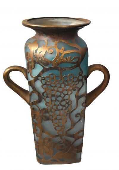 Anca Florea Podaru AMA Collective art glass vase Romania