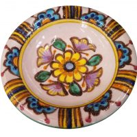 Vintage art pottery W.Pinto bowl from Vietri
