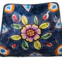 W. Pinto Vietri Italian vintage art pottery bowl
