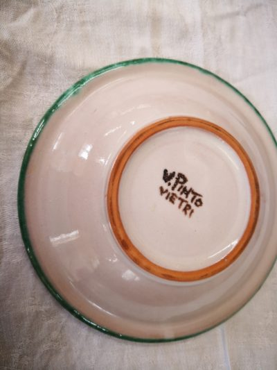 V. Pinto Vietri Italian art pottery from Antik Seramika Essex UK