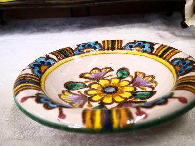 W.Pinto Vietri vintage art pottery bowl