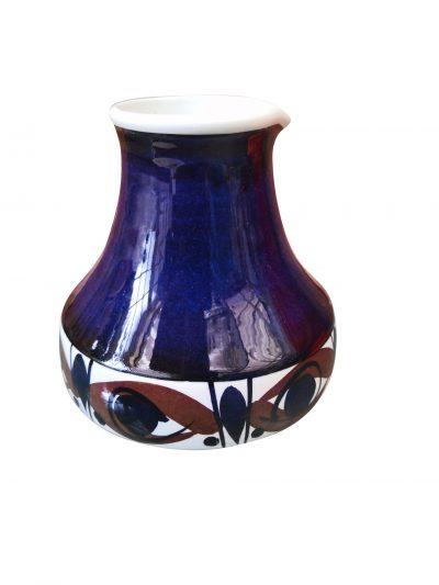 Royal Copenhagen Aluminia Faience mid-century Scandinavian vintage pottery Eye jug from Antik Seramika Essex UK