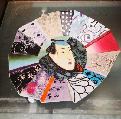 Fabienne Jouvin art pottery charger in oriental style - Antik Seramika