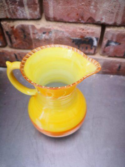 Shelley Harmony drip glaze art deco pottery jug from Antik Seramika Essex UK