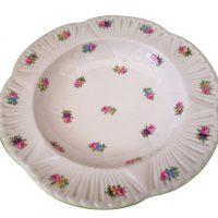 Shelley Dainty rosebud soup bowls 1930s Pattern 2325 - Antik Seramika