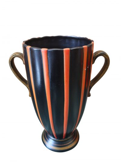 Brentleigh ware Brummell 1930s 1940s trophy vase from Antik Seramika