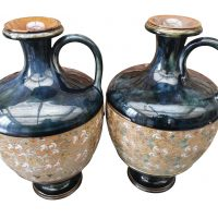 Royal Doulton Lambeth Slater vases from Antik Seramika