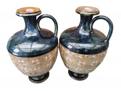 Royal Doulton Lambeth Slater vases from Antik Seramika