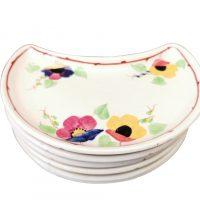 George Jones Cotswold half moon art deco tea plates - Antik Seramika