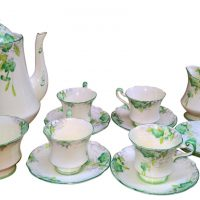 Paragon art deco part coffee set - Antik Seramika