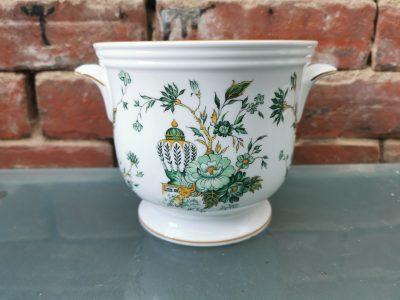 Kowloon staffordshire pottery vintage planter from Antik Seramika