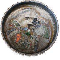Poole pottery mid century mosaic dish pattern 111 from Antik Seramika