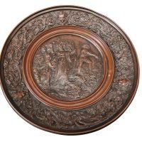 Art Union of London Antique Bronze comport or tazza from Antik Seramika