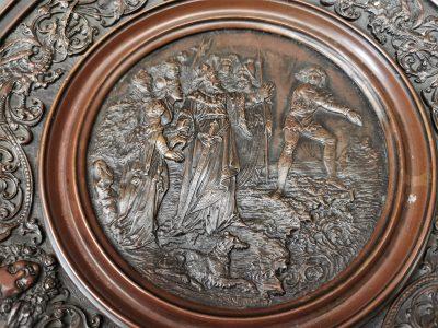 Art Union of London Art nouveau bronze comport or tazza at Antik Seramika